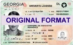 GEORGIA  DRIVER LICENSEGEORGA FAKE ID CARD | FAKE ID MAKER |  GEORGIA FAKE ID