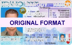IDAHO  DRIVER LICENSE IDAHO FAKE ID CARD | FAKE ID MAKER |  IDAHO FAKE ID