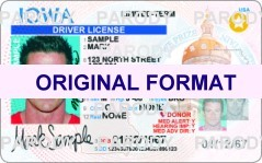 IOWA  DRIVER LICENSE IOWA FAKE ID CARD | FAKE ID MAKER |  IOWA FAKE ID